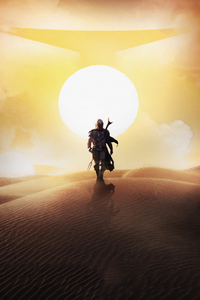 1440x2560 The Mandalorian 4k 2019 Tv Show