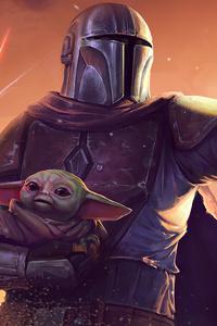 The Mandalorian Baby Yoda 4k 2020