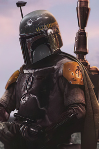 1125x2436 The Mandalorian Season 2 4k
