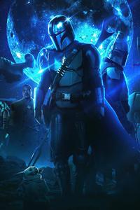 320x480 The Mandalorian Star Wars Season 3