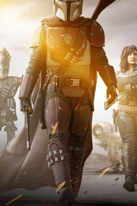 480x854 The Mandalorian Tv Series 2019