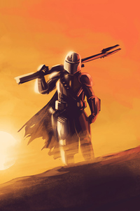 640x1136 The Mandalorian Tv Series 4k