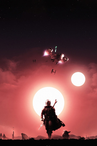 640x1136 The Mandalorian Tv Series4k