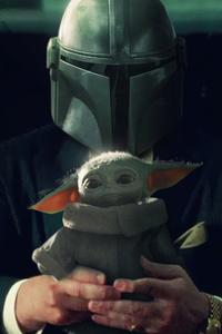 The Mandalorian Yoda 4k