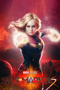 2160x3840 The Marvels Poster 4k