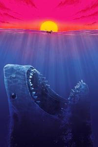 1080x1920 The Meg Poster 4k