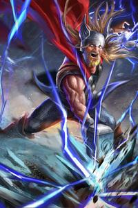 1080x2280 The Old God Of Thunder