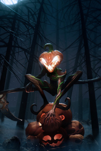 320x480 The Pumpkin King 4k