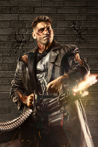 320x480 The Punisher 5k