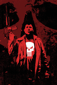 320x480 The Punisher Art 4k New