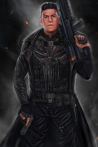 The Punisher Art
