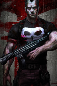 The Punisher Digital Artwork