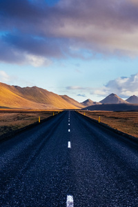 800x1280 The Ring Road Iceland 4k