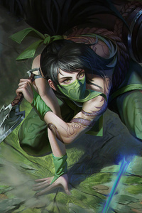 The Rogue Assassin Akali