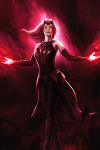 640x960 The Scarlet Witch