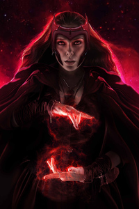 640x960 The Scarlet Witch 4k