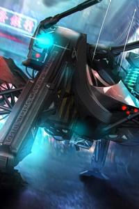 The Scifi World Grasshopper Weapon Robot 4k