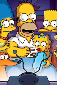 480x800 The Simpsons Tv Series 4k