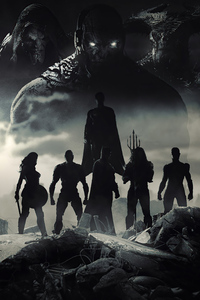 800x1280 The Snyder Cut Dark Seid Poster 4k