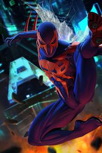 480x800 The Spiderman 2099 5k