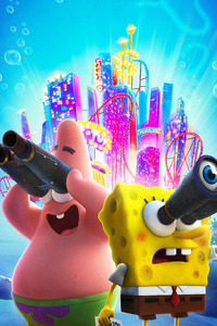 640x1136 The SpongeBob Movie Sponge On The Run 2020