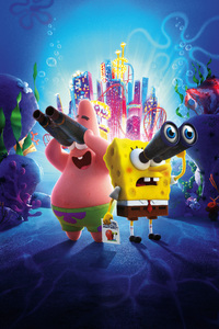 1080x2160 The SpongeBob Movie Sponge On The Run 8k