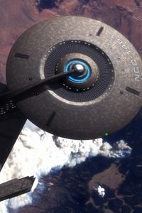 The Starship Enterprise 4k Artwork