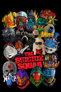 The Suicide Squad Dark Poster 5k