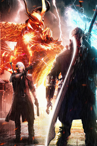 750x1334 The Swordsman Son Devil May Cry 5 4k