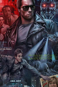 360x640 The Terminator 1984 Movie Poster