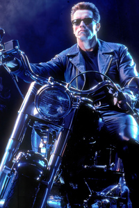 480x854 The Terminator On Bike
