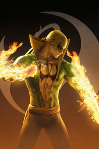 240x320 The Undying Fist Iron Fist 4k