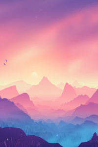 720x1280 The Valley Minimal 4k