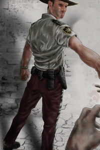 The Walking Dead 10k Artwork