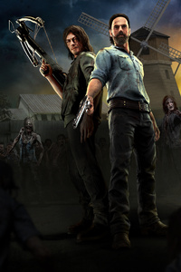 800x1280 The Walking Dead Onslaught