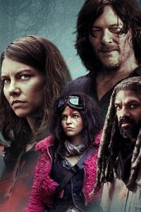 2160x3840 The Walking Dead Season 10