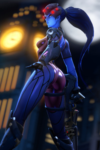 1080x2280 The Widowmaker 4k