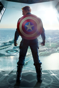1280x2120 The Winter Soldier 4k
