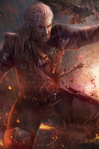 The Witcher 3 Geralt Fanart