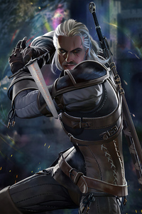The Witcher 3 Geralt Of Rivia 5k