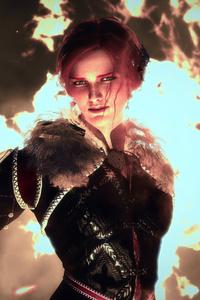 The Witcher 3 Magic Woman 10k