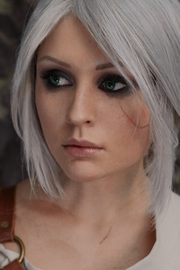 The Witcher 3 Wild Hunt Ciri Cosplay 4k