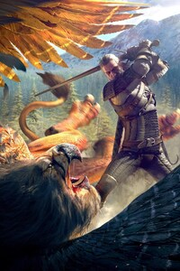 240x320 The Witcher 3 WIld Hunt Game