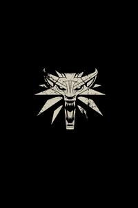 The Witcher 3 Wild Hunt Minimalism Logo