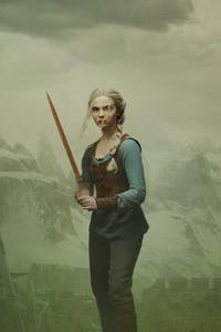 540x960 The Witcher Freya Allan Ciri Is Destined To Fight
