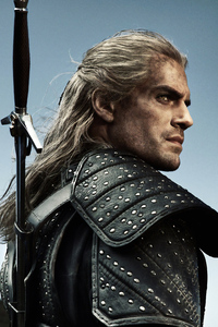 540x960 The Witcher Henry Cavill 4k