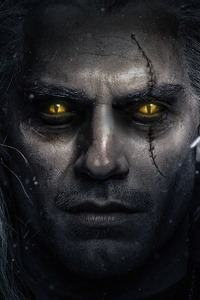 640x1136 The Witcher Henry Cavill 4k Tv Series