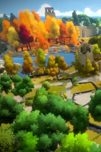 1280x2120 The Witness PS Game