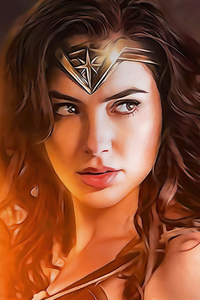 720x1280 The Wonder Woman Fanart 4k