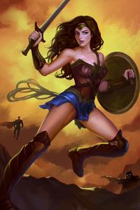1080x2160 The Wonder Woman
